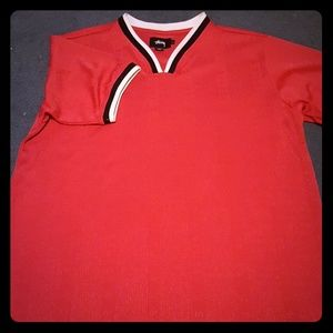 Stussy tennis jersey